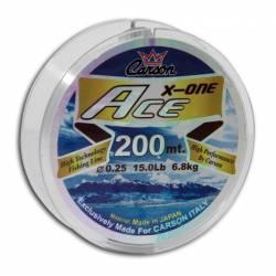 Monofilo da Pesca - Carson Ace X One 200Mt