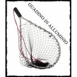 Guadino racchetta in alluminio / rete maglia larga