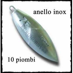 10 Piombi Tommy anello inox