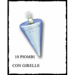 10 Piombi a Cono con girella