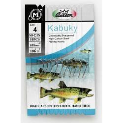 Ami legati n.6 filo 0.18mm da pesca trota lago