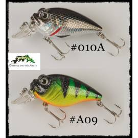 Minnow Artificiale EG-043F wiggling oscar