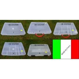 Cassetta valigetta Porta accessori e artificiali da pesca
