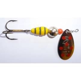cucchiaino heron vespa paletta argento puntini rossi
