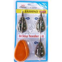 inline feeder kit competition 3 pasturatori stampo method carpfishing ledgering