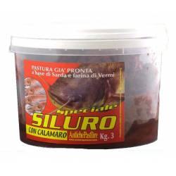 secchio 3kg pastura siluro
