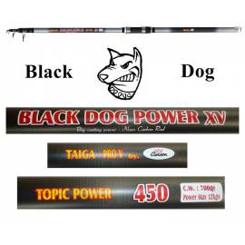 Canna Surfcasting Black Dog 4.50Mt Lancio Max 700g