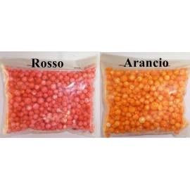 pallini polistirolo arancio rosso