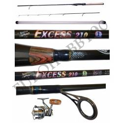 kit canna trout game exces 2.10m 1/8g + mulinello jf1000