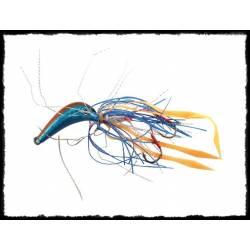 kabura hm jig 80g blu/arancio