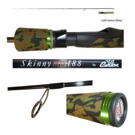 Canna da Pesca Spinning - 1.88m 0/10g - Carson Skinny Evo