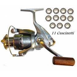 Mulinello da Pesca Spinning 11 Cuscinetti - Globe Fishing XC3000