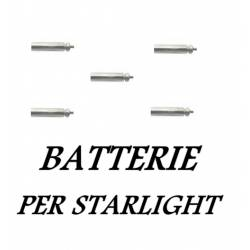 5 Batterie a litio PL90 per Starlight a led