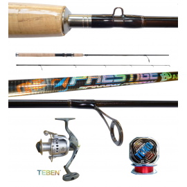 Kit Pesca a Spinning Canna + Mulinello +Filo