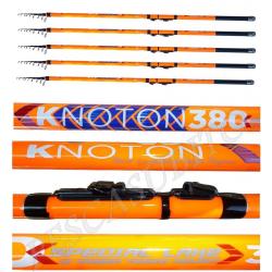 Kit Serie Completa 5 Canne Pesca Trota Tremarella - Knoton