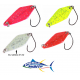 Kit 4 Spoon 5g Ondulanti Pesca Trota Trout Area Game