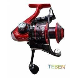 Mulinello da Pesca Frizione Anteriore - Teben HBS 10 Cuscinetti