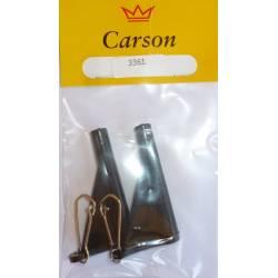2 Anti Tangle Attacco per Piombo o Pasturatore - Carson