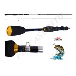 Canna da Pesca a Spinning in Carbonio - Carson Spin Catch
