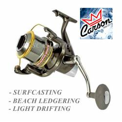 Mulinello da Pesca Surfcasting Light Drifting - Carson Pro Hunter 8000