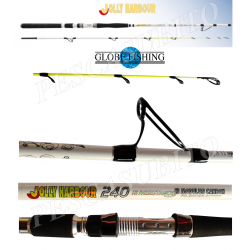 Canna da Pesca Bolentino Medio Profondo - Jolly Harbour 2.40Mt 70/300Gr - Globe Fishing