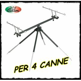 rod pod 4 canne deluxe