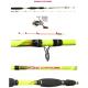 Kit Canna Pesca Seppia Calamaro + Mulinello - Globe Fishing Eging Capture Xc