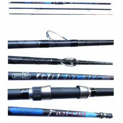 Canna da Pesca Surfcasting Ripartita - Julia Rod Great Surf 4,50Mt 250Gr