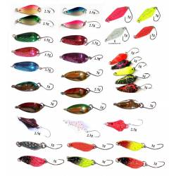 Stock 33 Spoon Pesca Spinning Trota Trout Area Game