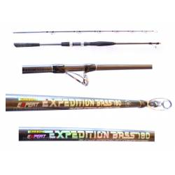 Canna Traina Vertical Jigging Spinning - Leader Line / Expedition Bass 50Lbs