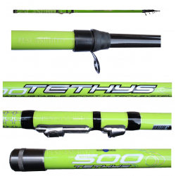 Canna Trota Teleregolabile in Carbonio - Globe Fishing / Tethys