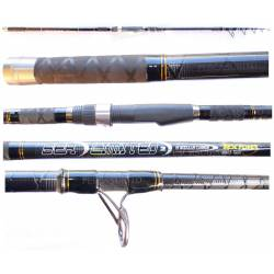 Canna Surfcasting Telescopica in Carbonio / Best Fisher - Sea Limited
