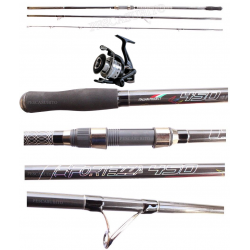 Kit Surfcasting Canna Fortezza 4.20Mt + Mulinello Razor 5000