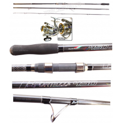 Kit Surfcasting Canna Fortezza 4.50Mt + Mulinello Talent 6000