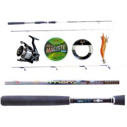 Kit Pesca alla Seppia Canna Harmony 2.70Mt + Mulinello Razor + Accessori