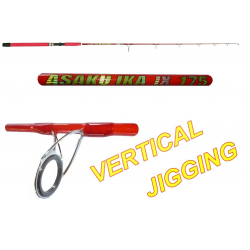 Canna da Pesca Vertical Jigging - 1.75Mt 150Gr - Carson Asaku Ika