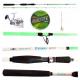 Kit Pesca Calamari Canna Frenesy 2.10Mt + Mulinello Hesperus 4000 + Accessori