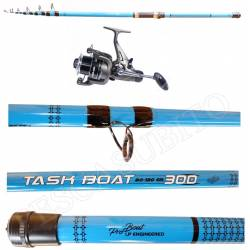 Kit Canna Pesca Bolentino + Mulinello - Globe Fishing Task Boat 3.00Mt Niged