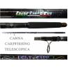 Canna Carpfishing Telescopica 12Piedi 3Lb - Barbetta Ugly