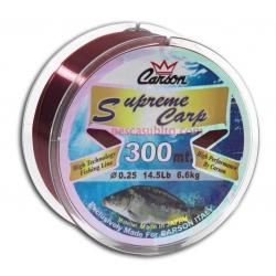 Monofilo da Pesca - Carson Supreme Carpfishing 300Mt
