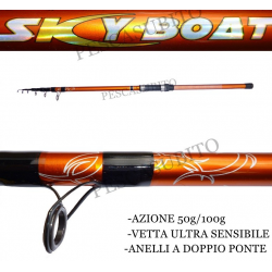 Canna Skyboat 50/100g Pesca Bolentino Costiero
