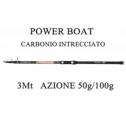 Canna Bolentino Power Boat 3m Azione 50/100g