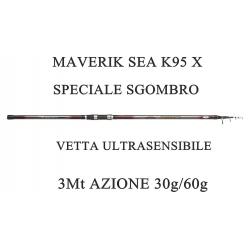Canna Maverik Sea K95X Pesca Bolentino 3m 30/60g