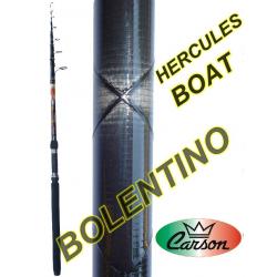 Canna Da Pesca Bolentino 3Mt AZ. 80/120Gr - Carson Hercules Boat