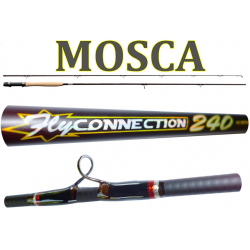 Canna Mosca Fly Connection 2.40m Coda 5/6