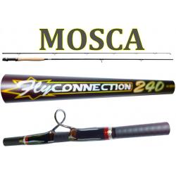 Canna Mosca Fly Connection 2.40m Coda 5/6