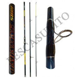 Canna Surfcasting Rock Fishing Ripartita - Bahamas 4,50Mt