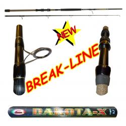 Canna da Pesca Popping Siluro Bolentino Profondità - 2.70Mt - Carson Dakota