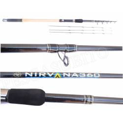 Canna Ledgering Feeder Telescopica - Nirvana 3.60Mt Max 60Gr