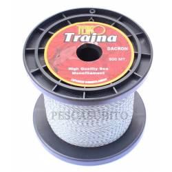 Trecciato Dacron Pesca Traina Bolentino - 500Mt 50Lbs